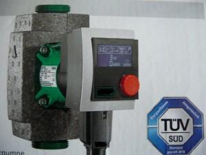 Die Pumpe sorgt für eine gleichmäßige und bedarfsgerechte Verteilung der Wärme im ganzen Haus