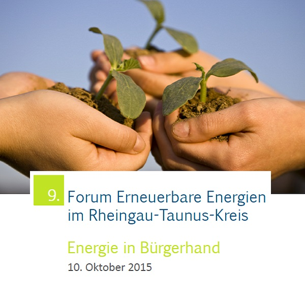 Fachforum Erneuerbare Energien im Bürgerhaus Taunusstein