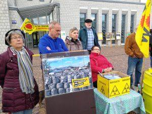 Tschernobyl Mahnwache