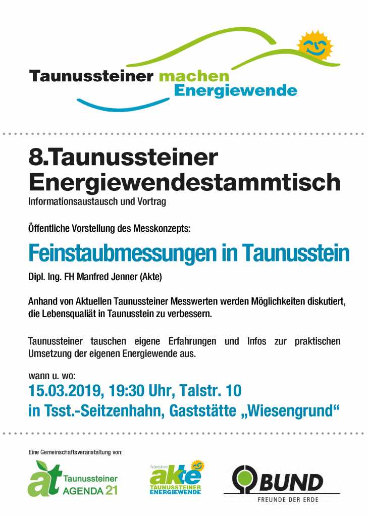 8 Energiewende-Stammtisch